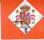 Sellos de Europa - España -  Escudo de España  (X)