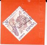 Stamps Spain -  VII Centenario de la Muerte del Rey D.Jaime I   (X)