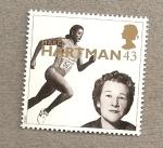 Stamps United Kingdom -  Personajes celebres