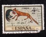 Stamps Spain -  Beato Biblioteca Nacional