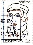 Stamps Spain -  Eduardo Arroyo- Pintor     (X)