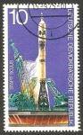 Sellos de Europa - Alemania -  1763 - Cooperación espacial USA - URSS, Lanzamiento del Soyuz
