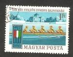 Sellos de Europa - Hungría -  2108 - XVII campeonato europeo femenino de piraguismo