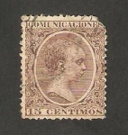 Stamps : Europe : Spain :  219 - Alfonso XIII