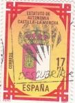 Stamps Spain -  Estatuto de Autonomía de Castilla-La Mancha   (X)