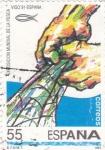 Sellos de Europa - España -  Exposición Mundial de la Pesca-Vigo-91   (X)