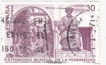Sellos de Europa - España -  Patrimonio Mundial de la Humannidad- Centro Histórico Monumento a Maimonides-Córdoba   (X)