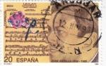 Sellos de Europa - España -  José Padilla-compositor   (X)
