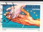 Sellos de Europa - España -  Año Europeo de las personas mayores y solidaridad entre generaciones  (X)