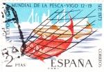 Sellos de Europa - España -  Exposición Mundial de la Pesca-Vigo   (X)