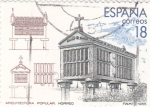 Stamps Spain -  Arquitectura Popular HORREO      (X)