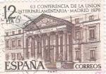 Sellos de Europa - España -  63 Conferencia de la Unión Interparlamentaria Madrid 1976   (X)