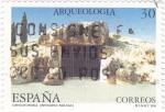 Sellos de Europa - España -  Arqueología-Cueva de Menga-Antequera   (X)