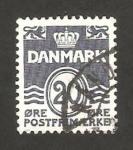 Sellos de Europa - Dinamarca -   564 - cifra