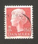 Sellos de Europa - Dinamarca -  724 - Reina Margrethe II