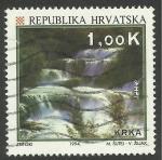 Stamps Croatia -   234 - Parque natural de Krka