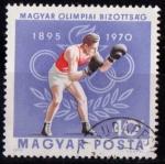 Sellos de Europa - Hungría -  2120-75º aniv. Comité Olímpico Húngaro