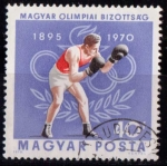 Stamps Hungary -  2120-75º aniv. Comité Olímpico Húngaro
