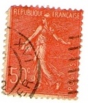 Stamps : Europe : France :  RF 50 C