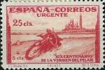 Stamps Spain -  Estafeta militar