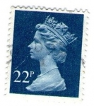 Stamps : Europe : United_Kingdom :  Reina Isabel II
