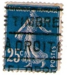 Stamps : Europe : France :  Republique française