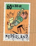 Stamps Netherlands -  Scott B668. Saxo.