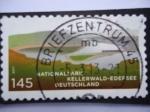 Stamps Germany -  Parque Nacional Kellerwald-Edefsee