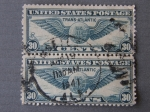 Stamps : America : United_States :  UNITED STATES POSTAGE - TRANS-ATLANTIC