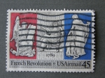 Stamps : America : United_States :  French Revolution - USA Air Mail