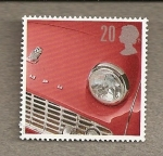 Stamps Europe - United Kingdom -  Coches antiguos