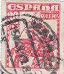 Stamps Spain -  1034 - Almirante Bonifaz