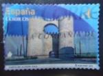 Sellos de Europa - España -  Puerta de Alcázar - Ávila.