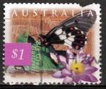 Stamps Australia -  Mariposa Big Greasy