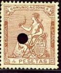 Stamps Europe - Spain -  Alegoría de España