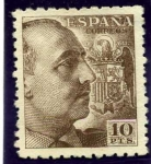 Stamps Europe - Spain -  Franco