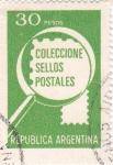 Sellos de America - Argentina -  COLECCIONE SELLOS POSTALES