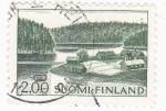 Sellos de Europa - Finlandia -  PAISAJE FINLANDES