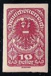 Stamps Austria -  Escudo de Armas. Papel Ordinario.