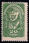 Sellos de Europa - Austria -  Alegoría de la Nueva Republica.