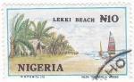 Sellos de Africa - Nigeria -  LEKKI BEACH
