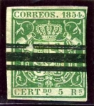 Stamps Europe - Spain -  Escudo con fondo de color