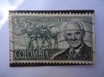 Sellos de America - Colombia -  Manuel Mejía J.1887-1958 (Federación Nal. de Cafeteros de Col.)