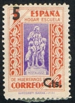 Stamps : Europe : Spain :  HOGAR ESCUELA DE HUERFANOS