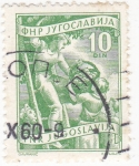 Stamps : Europe : Yugoslavia :  RECOLECTORES DE FRUTA