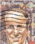 Stamps Malta -  BOBBY CHARLTON-LEYENDA DEL FUTBOL