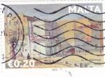 Sellos de Europa - Malta -  IMAGENES DE H.M.BATEMAN 1887-1970