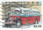 Sellos de Europa - Malta -  AUTOCAR DE EPOCA