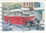 Stamps Malta -  AUTOCAR DE EPOCA