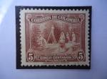Stamps Colombia -  Recolectoras de Café - Café Suave.
